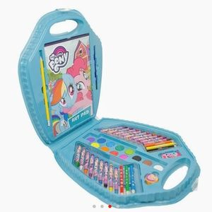 My Little Pony Office - MY LITTLE PONY Art Kit Case Markers Paint Crayons